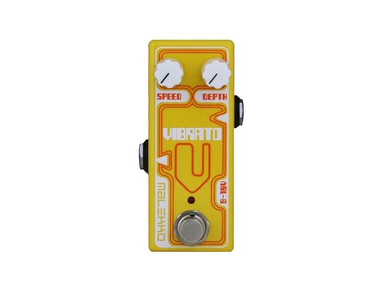 Malekko Heavy Industry Omicron Series Vibrato Guitar Effects Pedal