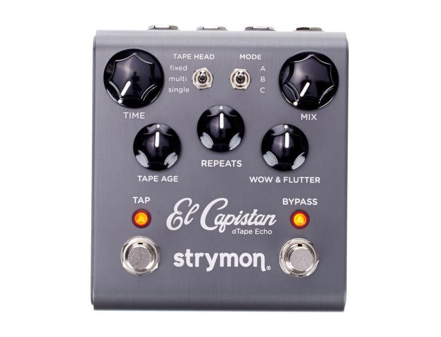Strymon el capistan dtape echo delay pedal xl