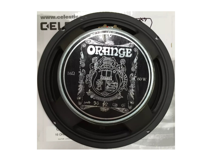 "Orange Voice of the World 12"", 60 Watt, 16 Ohm Speaker"