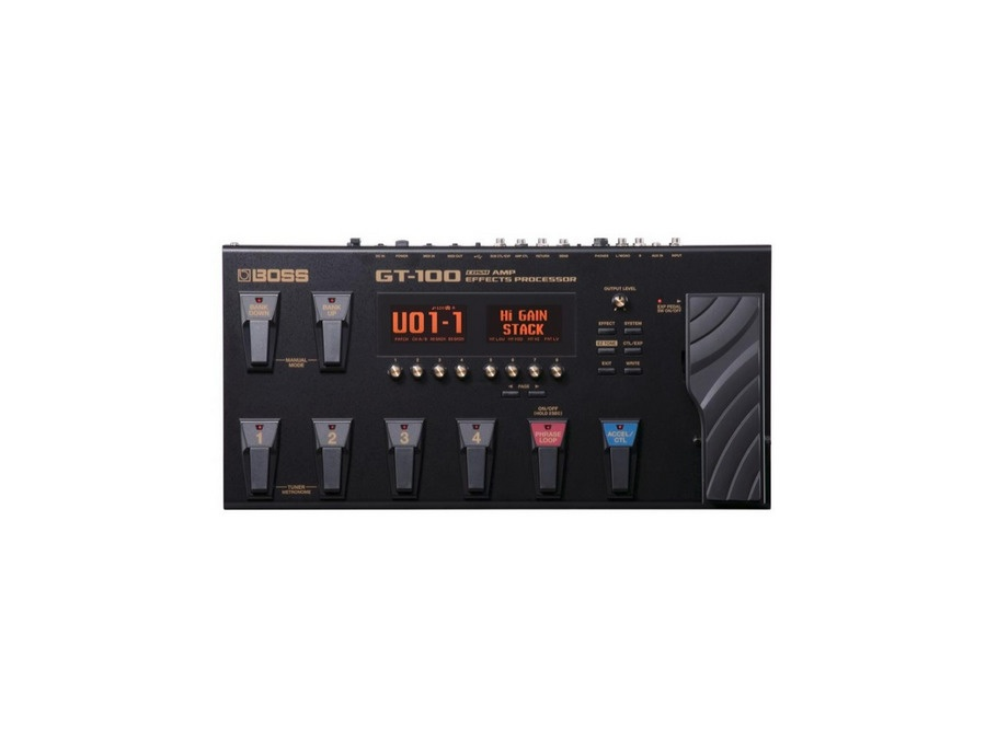 Boss GT-100 V2 Amp Effect Processor