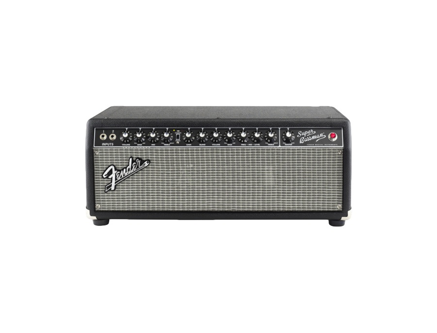 Fender super bassman pro 300w tube bass amp head xl