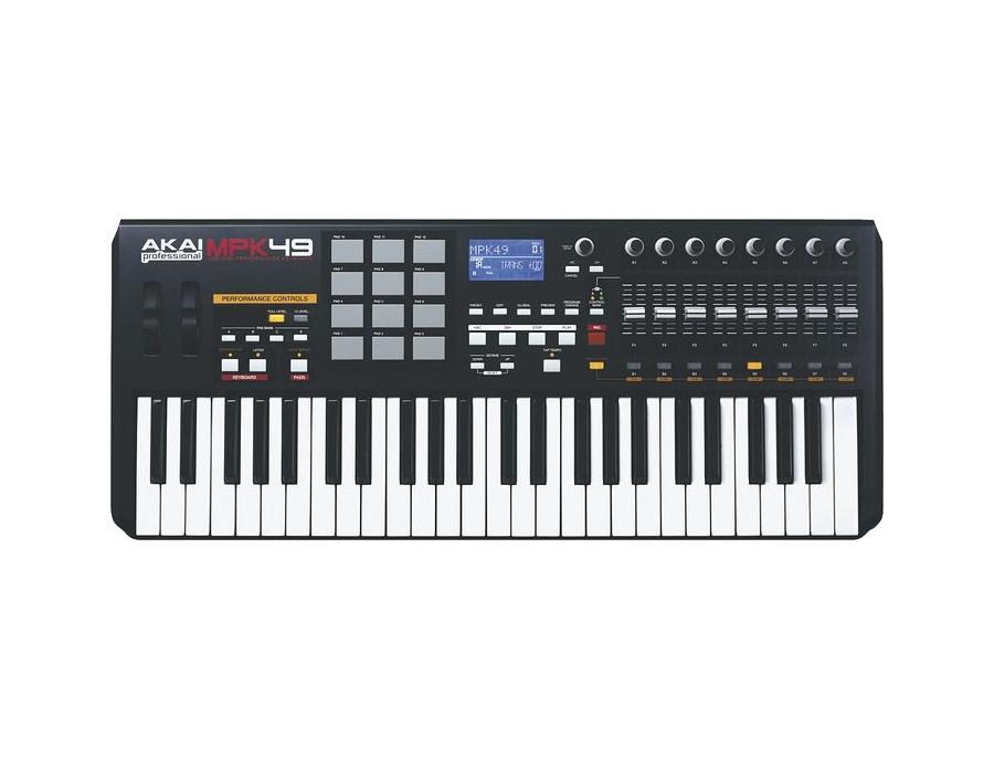 Akai professional mpk49 usb midi keyboard xl