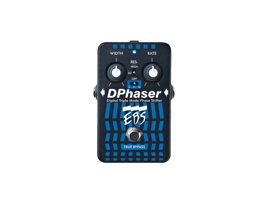 Ebs dphaser phaser effect pedal xl