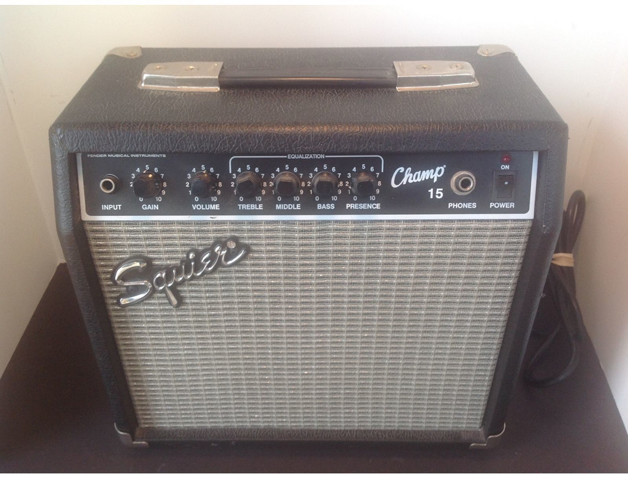 squire pr408 champ 15 guitar amplifier reviews prices equipboard. Black Bedroom Furniture Sets. Home Design Ideas