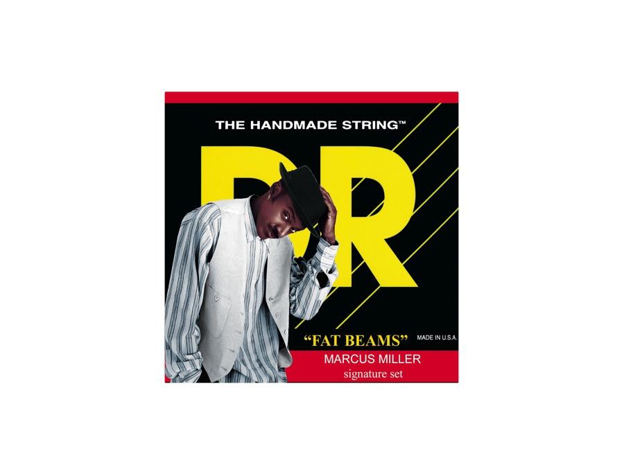 DR Strings Marcus Miller MM5-45 Fat Beams Medium 5-String Bass Strings .125 Low B
