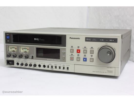 Panasonic AG-7330 S-VHS recorder