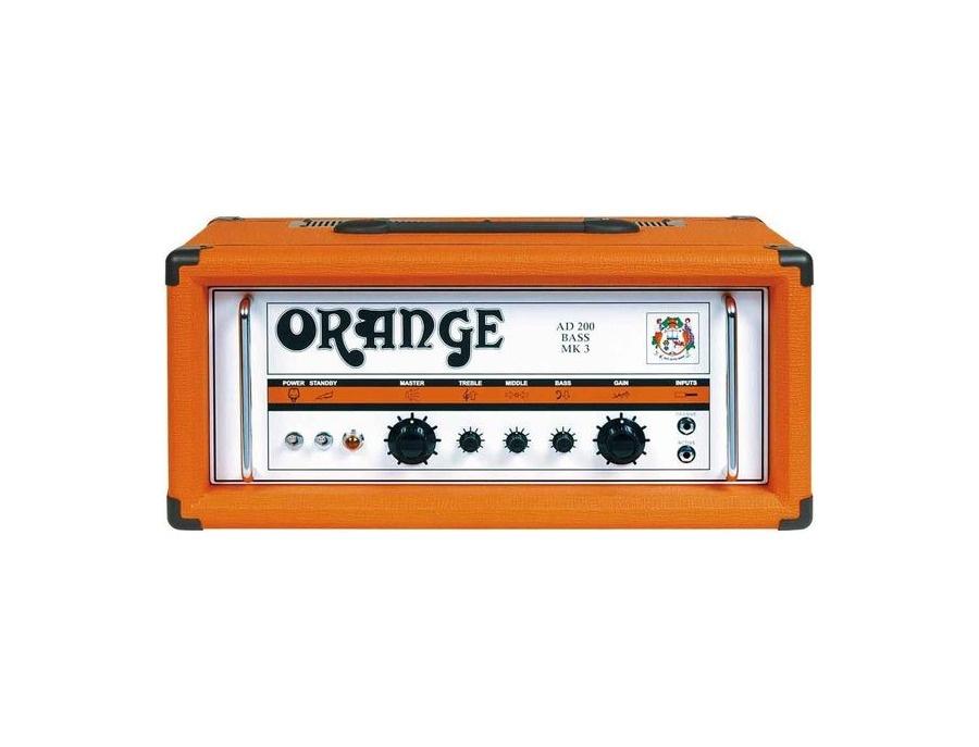 Orange amplifiers ad 200 bass mk 3 xl