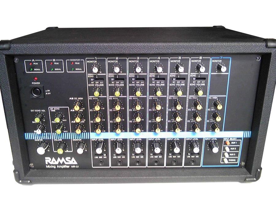 RAMSA WR-21