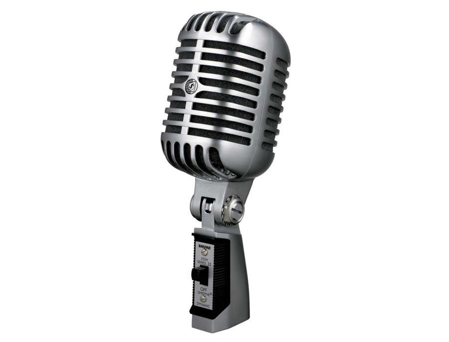 Shure 55sh dynamic microphone xl