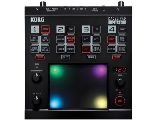 Korg Kaoss Pad Quad Reviews & Prices | Equipboard®