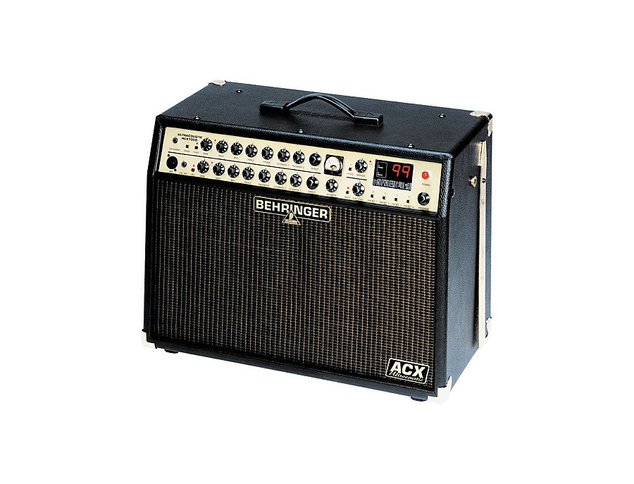 Behringer ultracoustic acx1000 2x60w acoustic amp xl