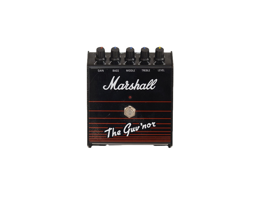 Marshall the guv nor mk1 overdrive pedal xl
