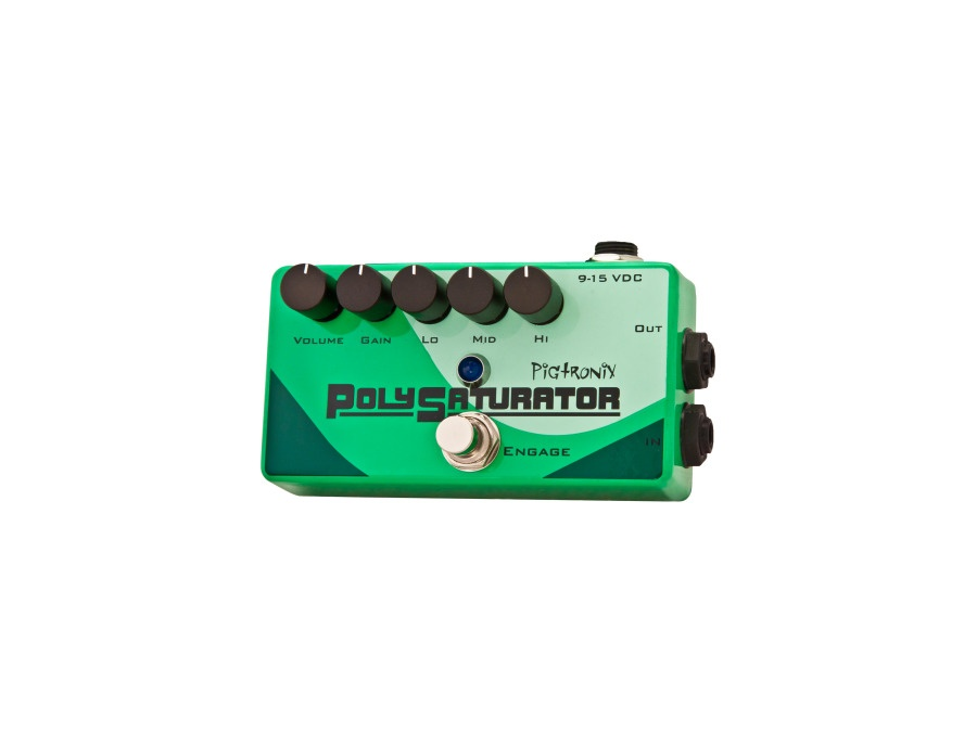 Pigtronix PolySaturator Distortion Guitar Effects Pedal