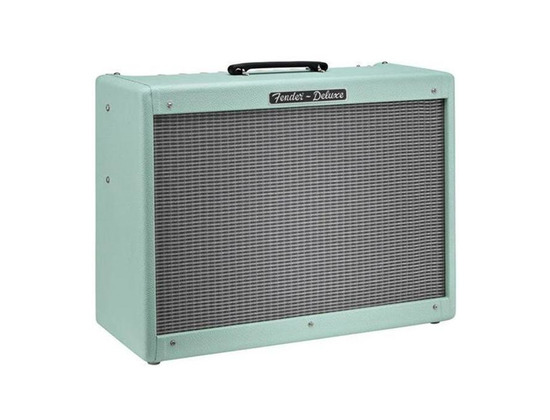 fender hot rod deluxe limited edition surf green reviews prices equipboard. Black Bedroom Furniture Sets. Home Design Ideas