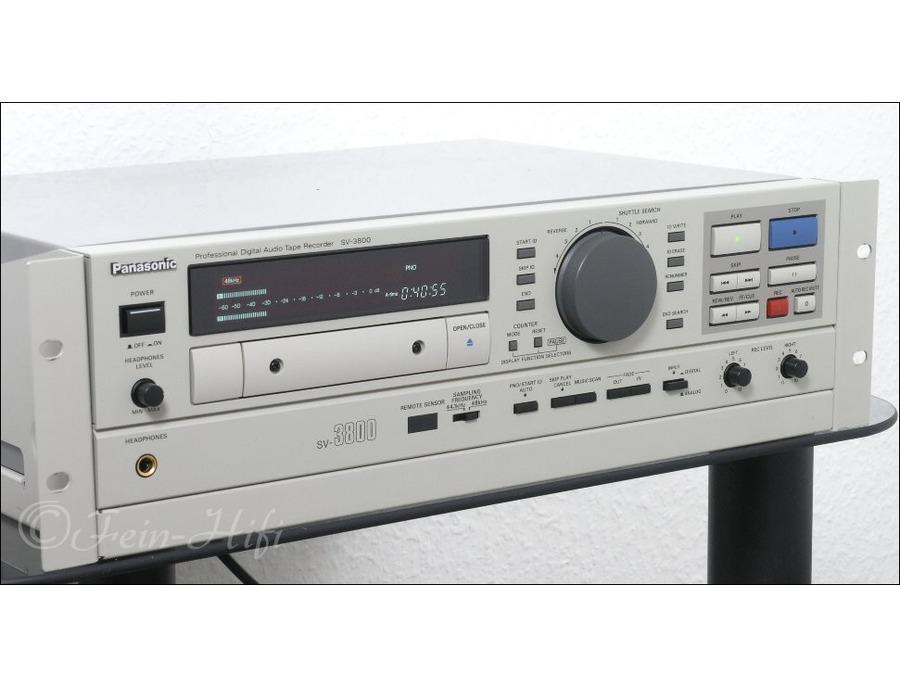Panasonic sv 3800 dat xl