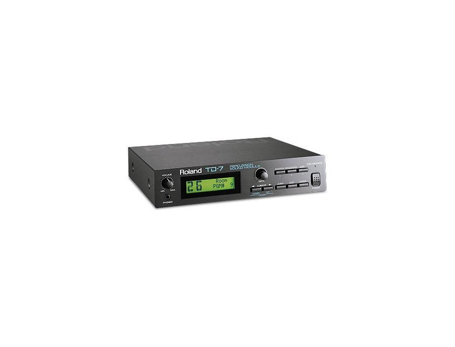 Roland td 7 percussion sound module xl