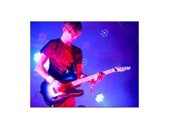 Fender Custom Russell Lissack Blue Burst Telecaster