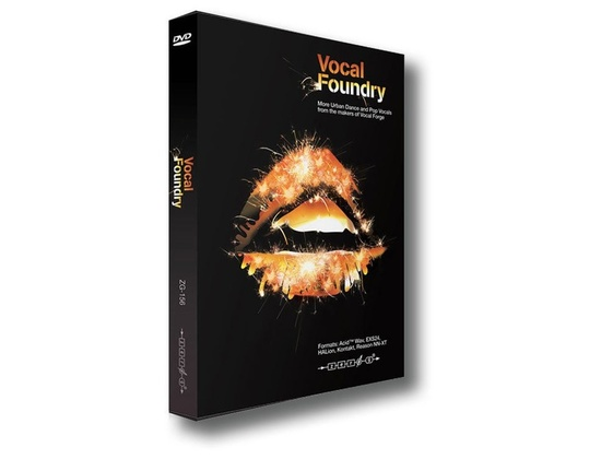 Zero G Vocal Foundry Sample Pack