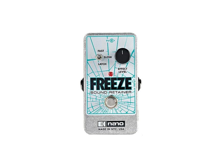 Electro harmonix freeze sound retainer pedal xl