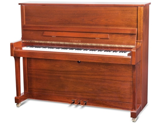 Feurich upright piano