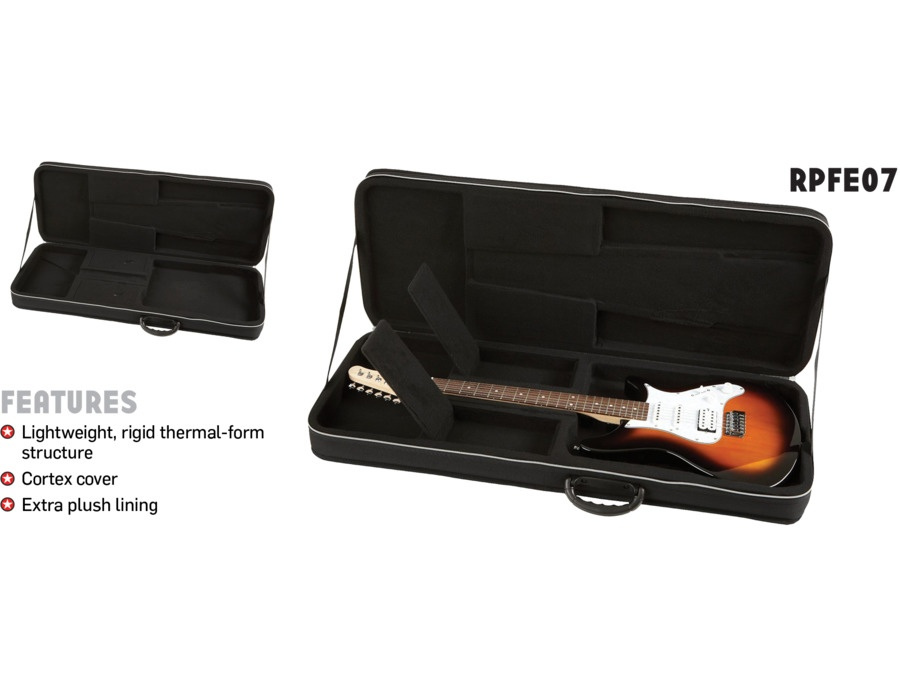 rpfe07 roadrunner polyfoam electric guitar case reviews prices equipboard. Black Bedroom Furniture Sets. Home Design Ideas