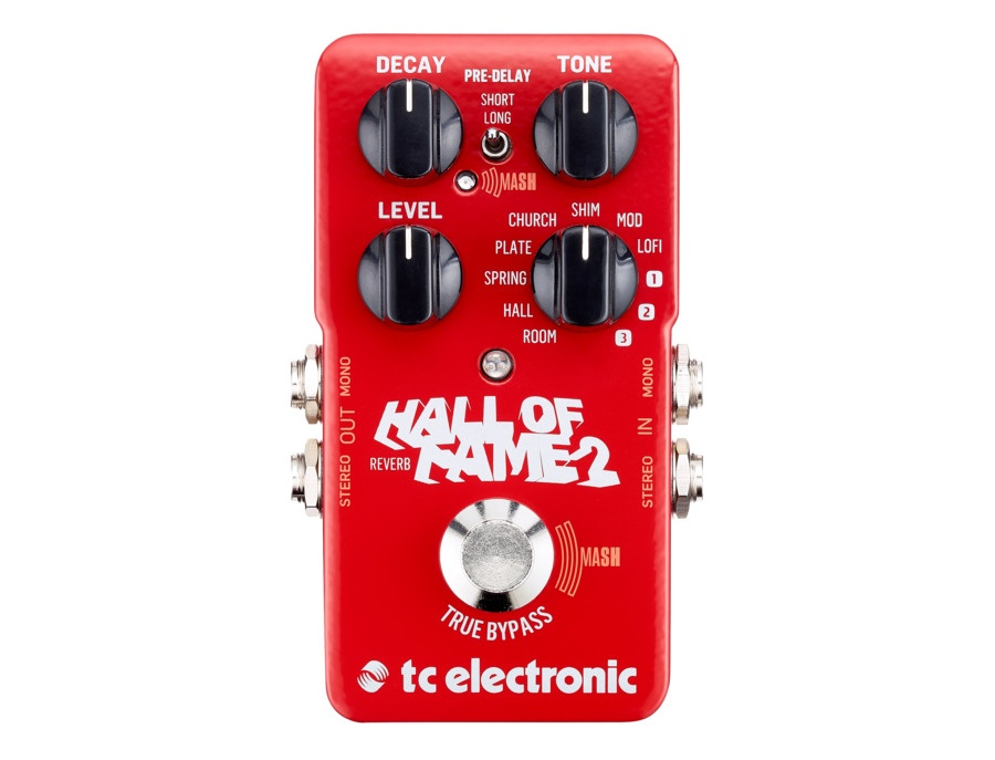 Tc electronic hall of fame 2 reverb pedal xl