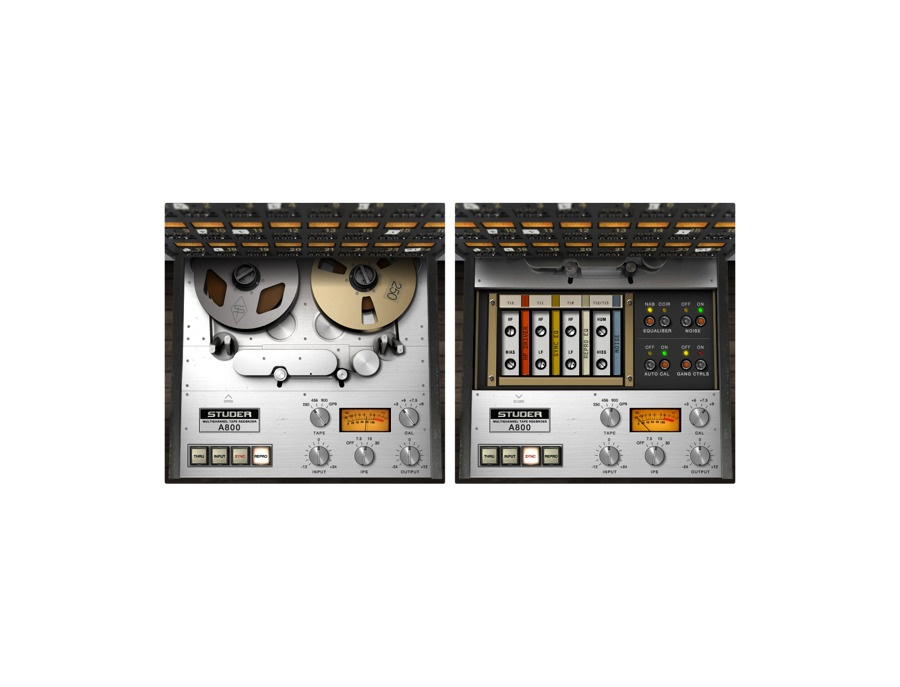 Universal Audio Studer A800 Multichannel Tape Recorder Plug-In