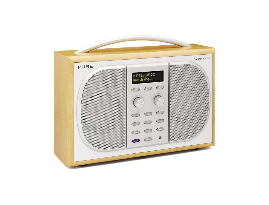 Pure Evoke 2S Portable Stereo DAB Digital and FM Radio