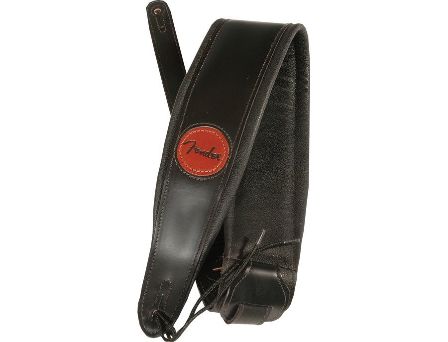 Fender deluxe leather wide strap xl