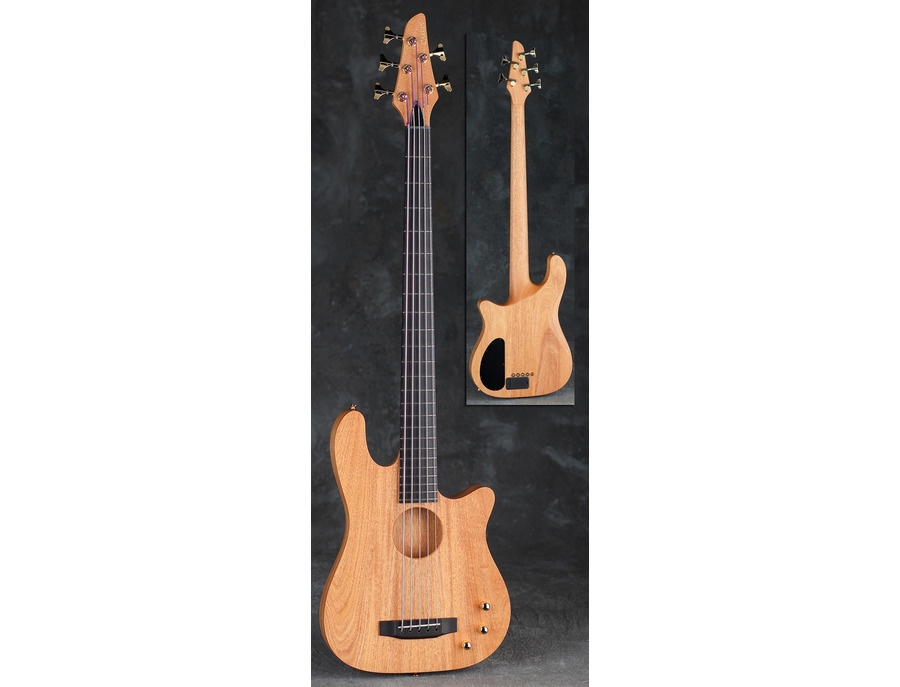 carvin ac50 5 string semi hollow acoustic electric bass guitar reviews prices equipboard. Black Bedroom Furniture Sets. Home Design Ideas
