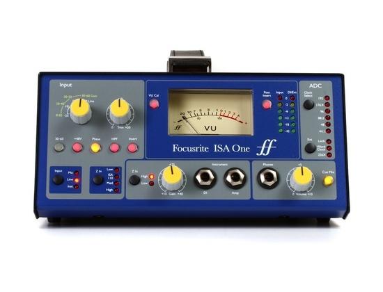 Focusrite ISA One Classic Single Channel Mic Pre