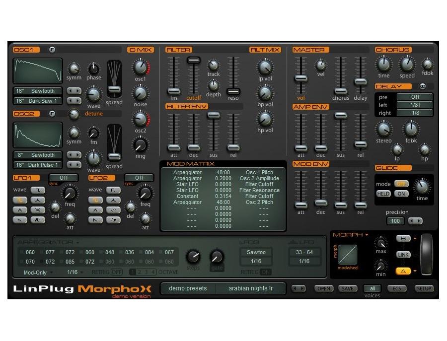 LinPlug MorphoX Software Synthesizer