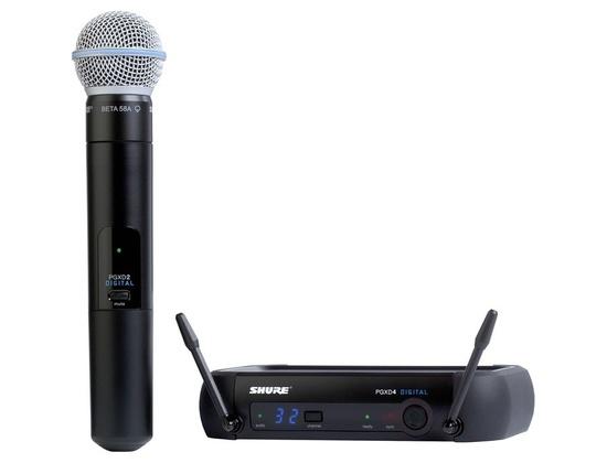 Shure PGXD24/BETA58A Digital Handheld Microphone