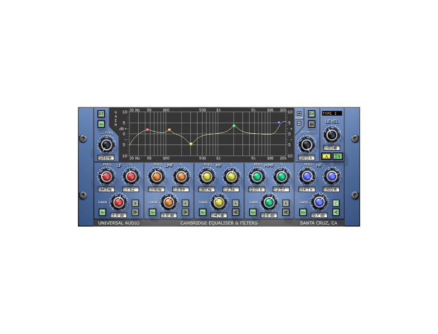 UAD Cambridge EQ Plugin