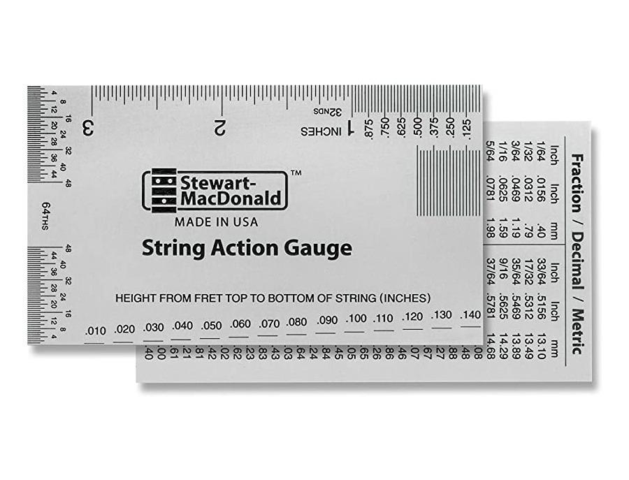 Stewmac string action gauge xl