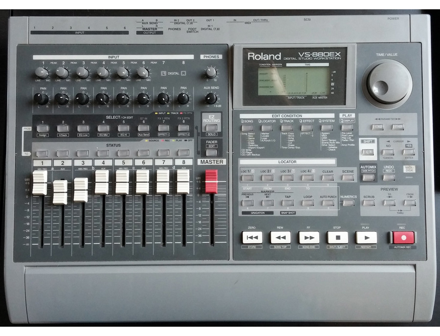 Roland vs 880ex xl