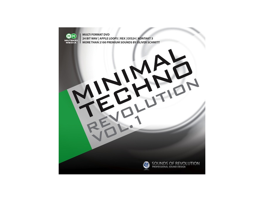 Sounds of Revolution Minimal Techno Revolution Vol. 1