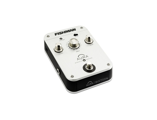 Fishman Aura Sixteen Programmable Imaging Guitar Effects Pedal