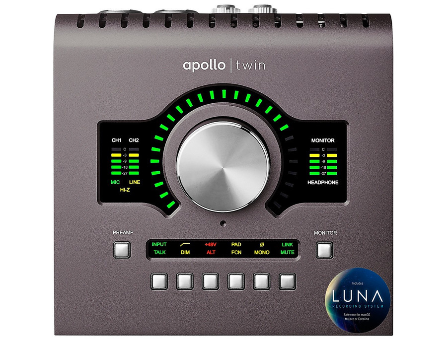 Universal audio apollo twin mkii duo xl