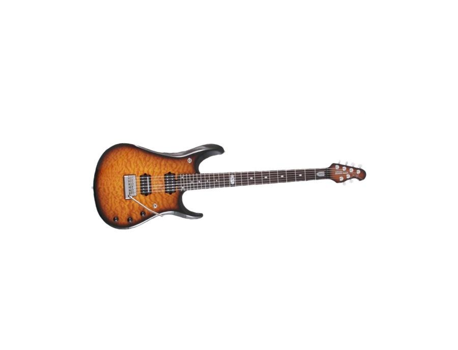 Music Man JP Baritone BFR Electric Guitar Tobbaco Burst