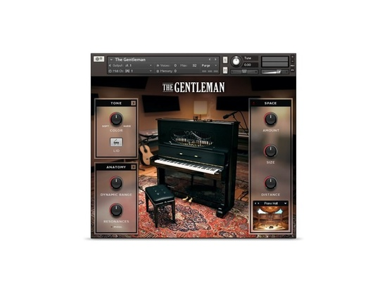 Native Instruments The Gentleman Kontakt Instrument