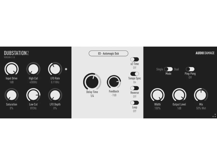 Audio damage dubstation 2 xl