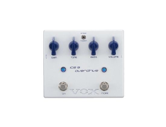 Vox Joe Satriani Ice 9 Overdrive Guitar Effects Pedal