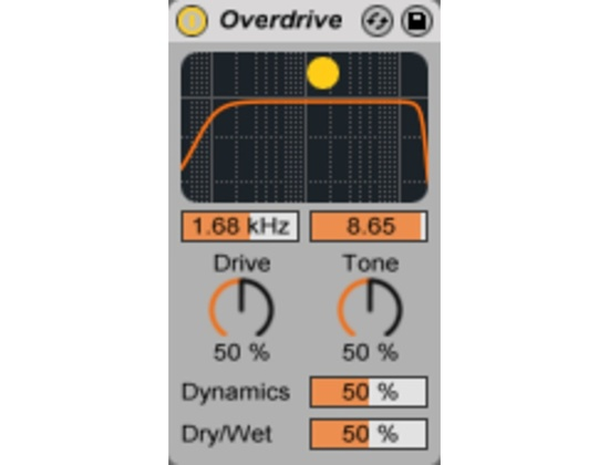 Ableton Overdrive Plugin