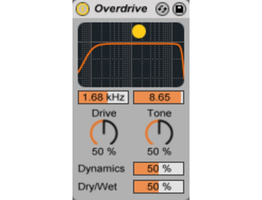 Ableton overdrive plugin xl