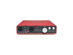 Focusrite scarlett 6i6 audio interface s