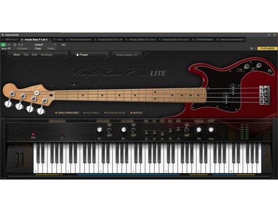 AMPLE SOUND / Ample Bass P Lite II