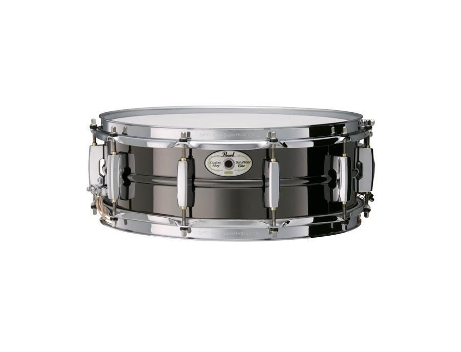 Pearl sensitone elite 14 x 5 beaded nickel brass snare xl