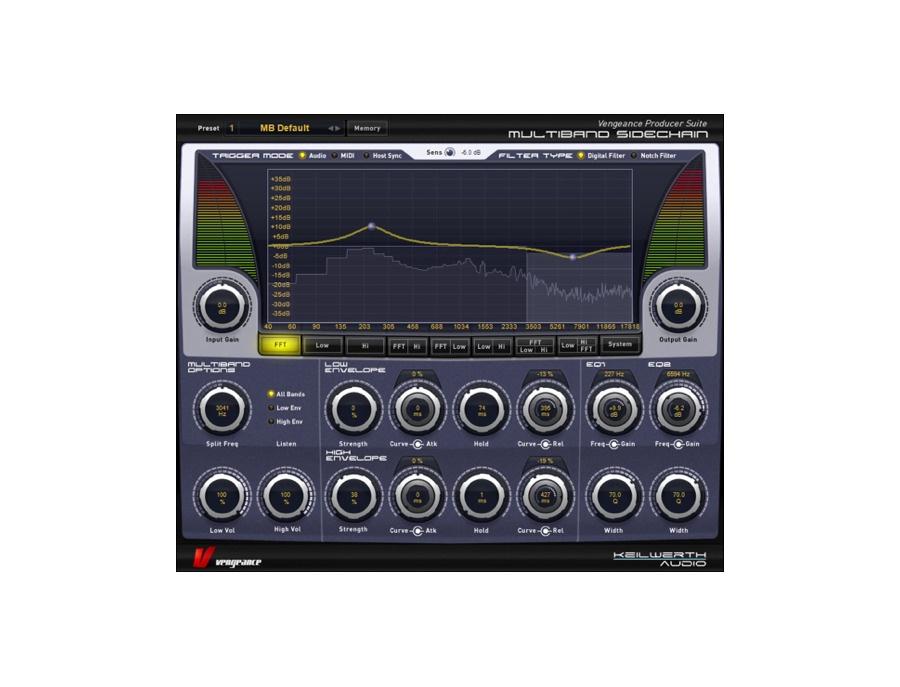 Vengeance producer suite multiband sidechain2 plugin xl