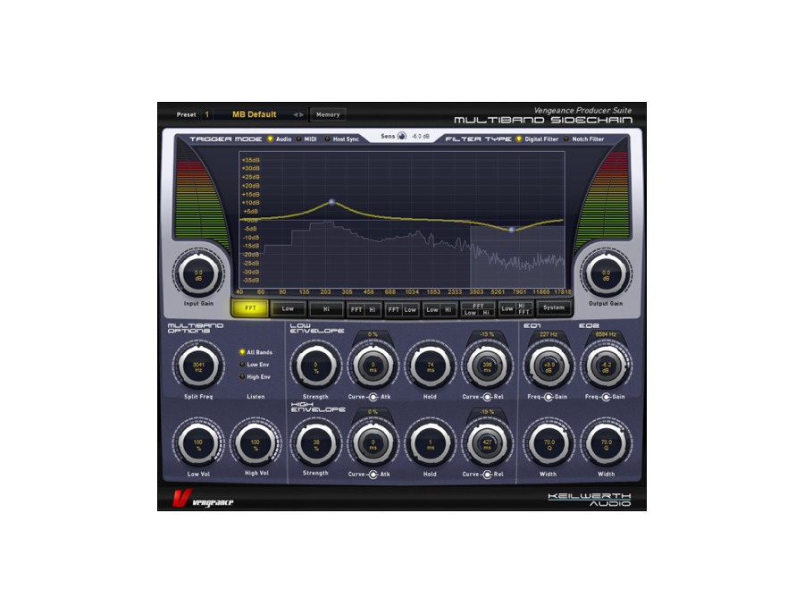 Vengeance Producer Suite: Multiband Sidechain2 Plugin